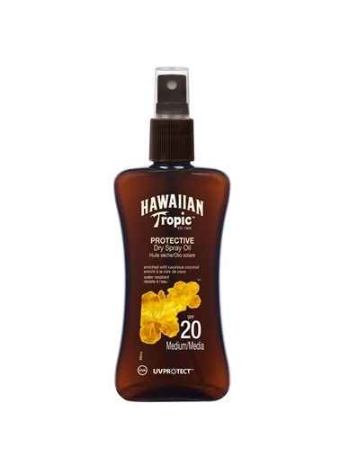 Hawaiian Tropic Protective Dry Spray Oil Spf20 200Ml Renksiz